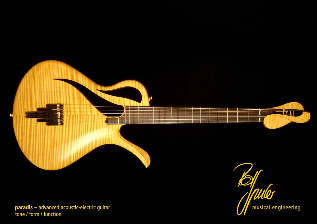 Paradis Rolf Spuler Modern Mojo Guitars