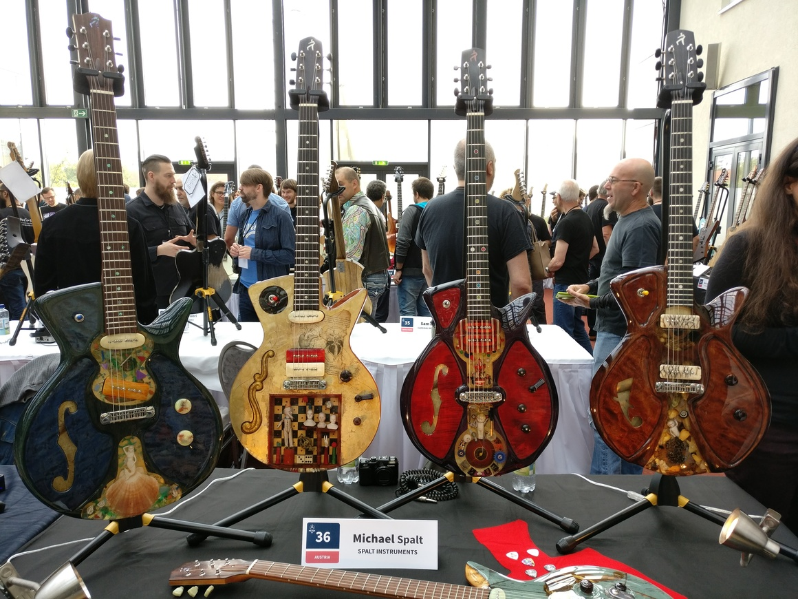 The Holy Grail Guitar Show 2016 Highlights Part I