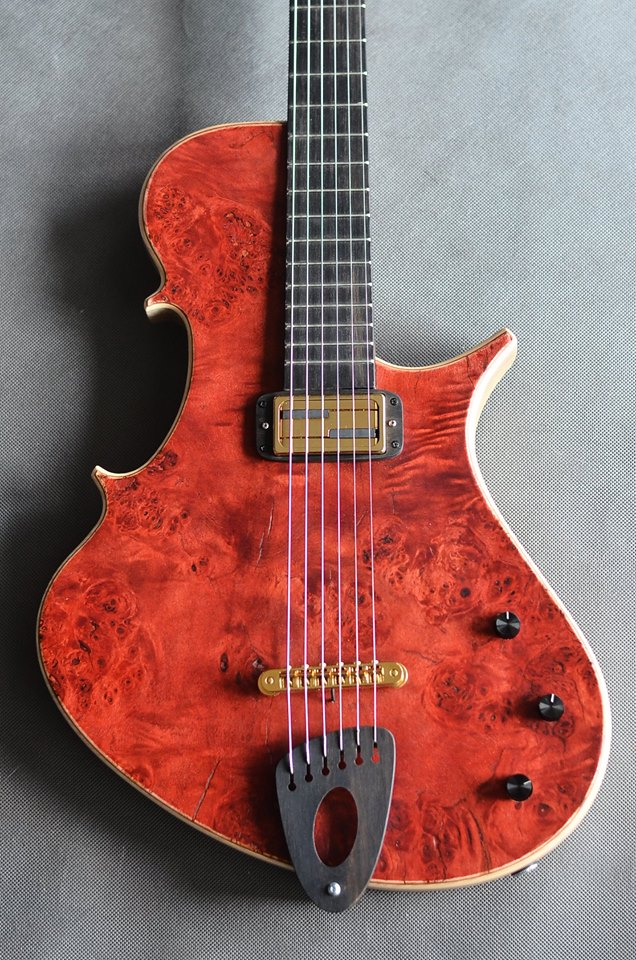 Stradi Guitar Modern Mojo Guitars